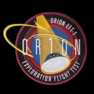 Orion EFT-1 First Flight Embroidered Patch 4